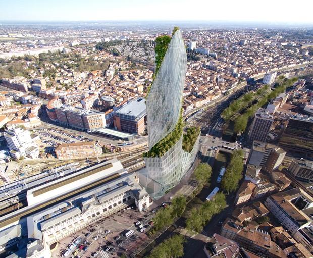 Tolouse, na França, está prestes a ganhar seu primeiro arranha-céu