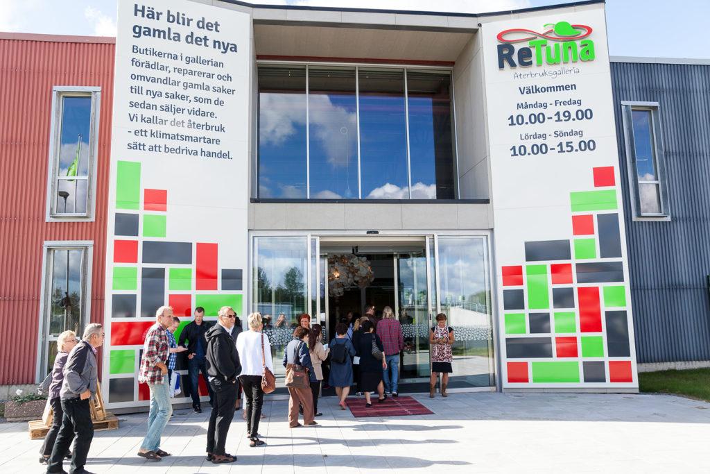Suécia inaugura o primeiro shopping do mundo dedicado a produtos reciclados
