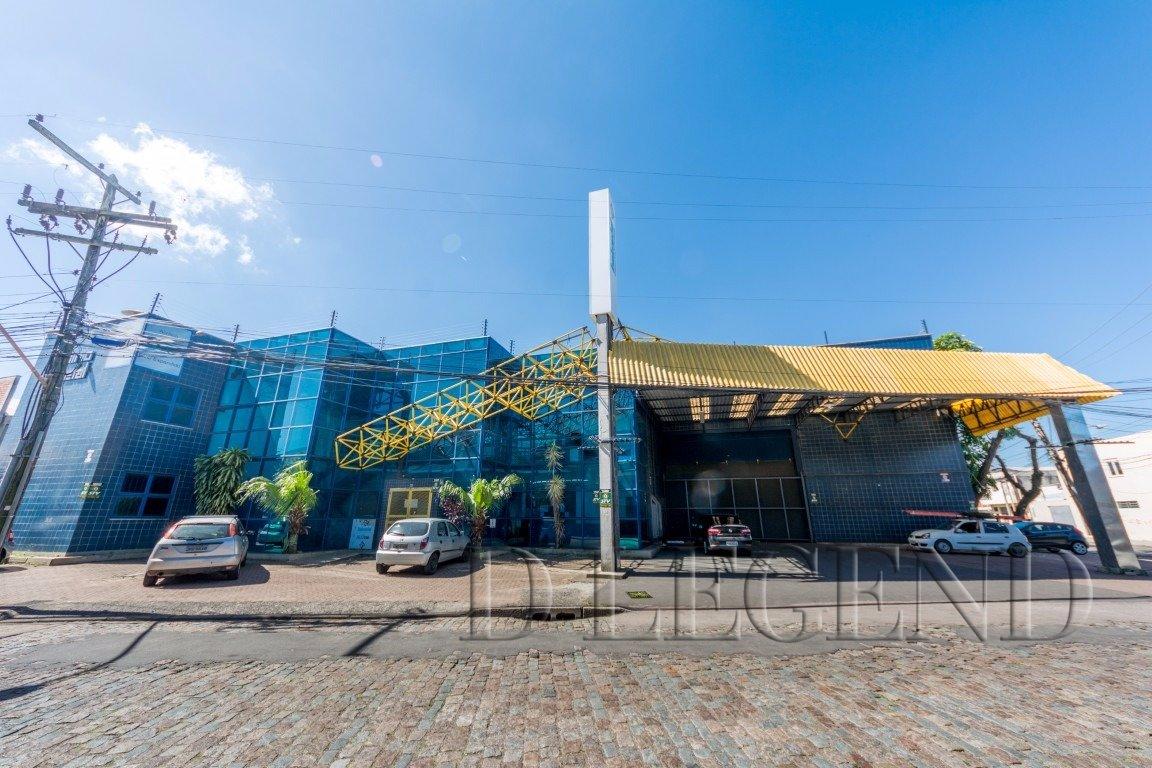 DEPÓSITO COM ÓTIMO PÉ DIREITO E COM ÁREA DE ESCRIT - Rua Lauro Muller, 560 - Navegantes - Porto Alegre