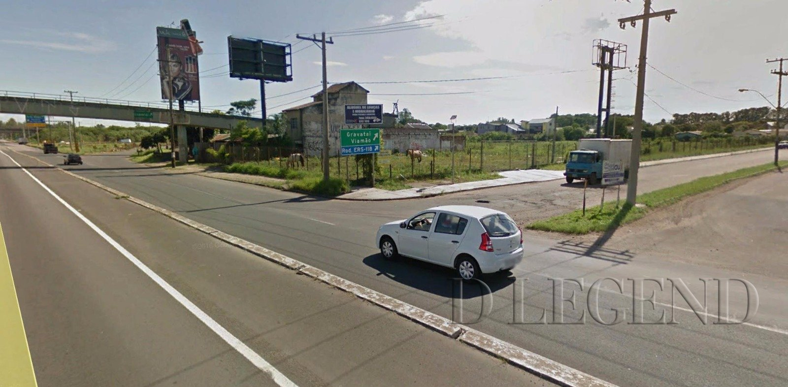 AMPLO TERRENO DE FRENTE PARA BR 116 - Avenida Luiz Pasteur, 820 - Tres Portos - Sapucaia do Sul